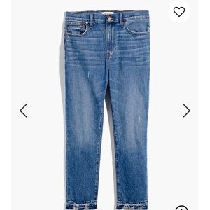 Madewell Jeans - the high-rise slim boyjean